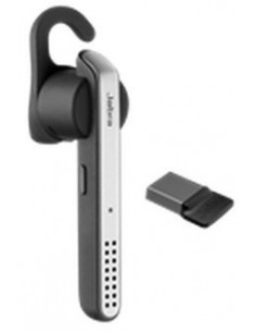 Jabra Stealth UC?, Bluetooth Headset for Mobile phone and PC (via mini Dongle), Voice control in English, EU charger