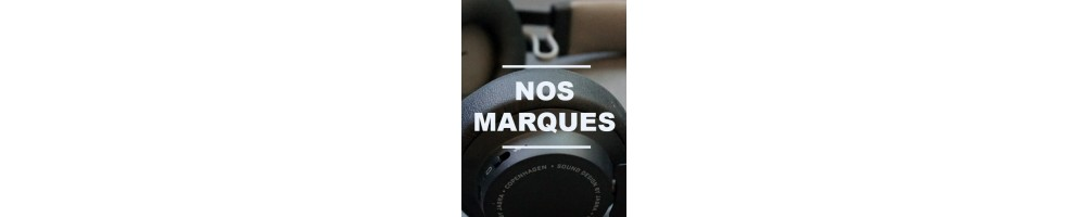 Top marques Casques  : Jabra, Poly-Plantronics, Sennheiser