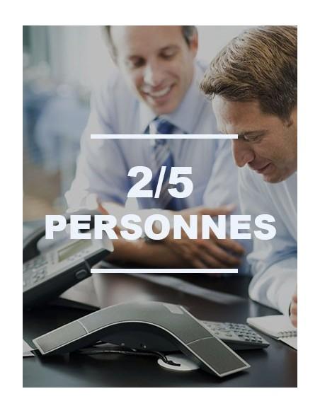 IP 2/5 personnes